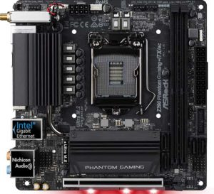 ASRock Motherboard (Z390 Phantom Gaming-ITXAC)
