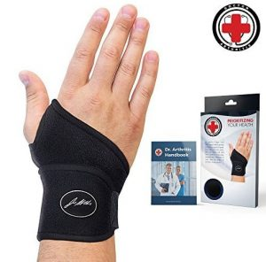 Doctor Developed Premium Copper Lined Wrist Support