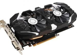 MSI Gaming GeForce GTX 1060 6GB OC Graphics Card