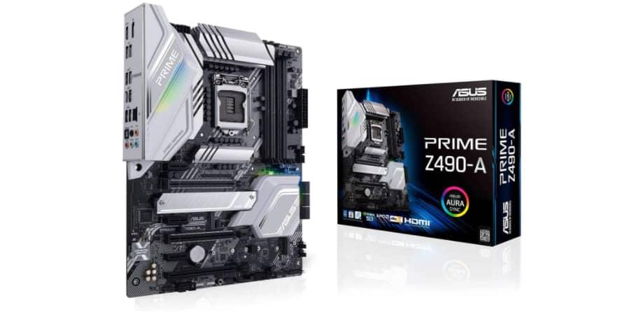 ASUS Prime Z490-A LGA 1200 (Intel 10th Gen) ATX Motherboard