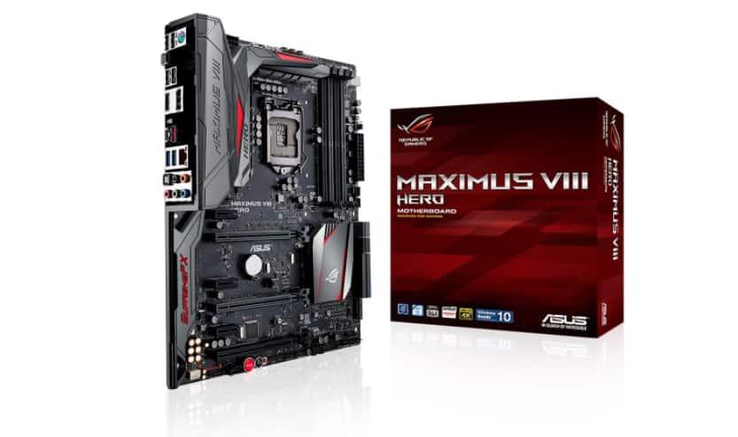 ASUS ROG MAXIMUS VIII HERO LGA1151 DDR4 ATX Motherboard