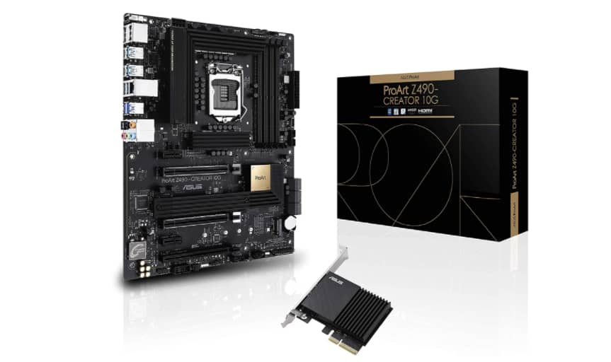 Asus Proart z490-Creator (Premium Motherboard with Thunderbolt 3.0)