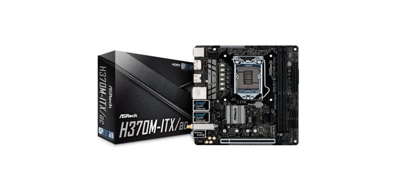 ASRock H370M-ITX/ac Motherboard