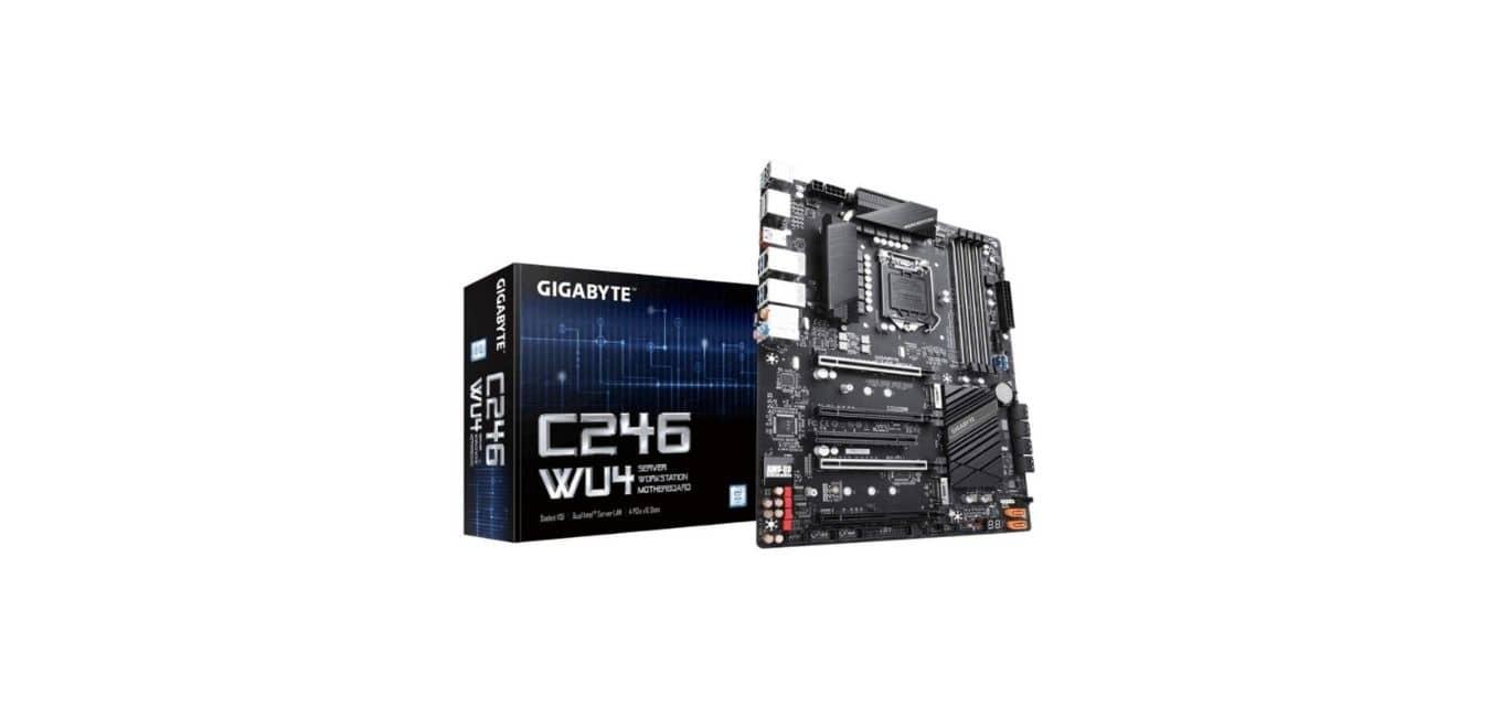 GIGABYTE C246-WU4 (IntelC246 Express Chipset) Motherboard