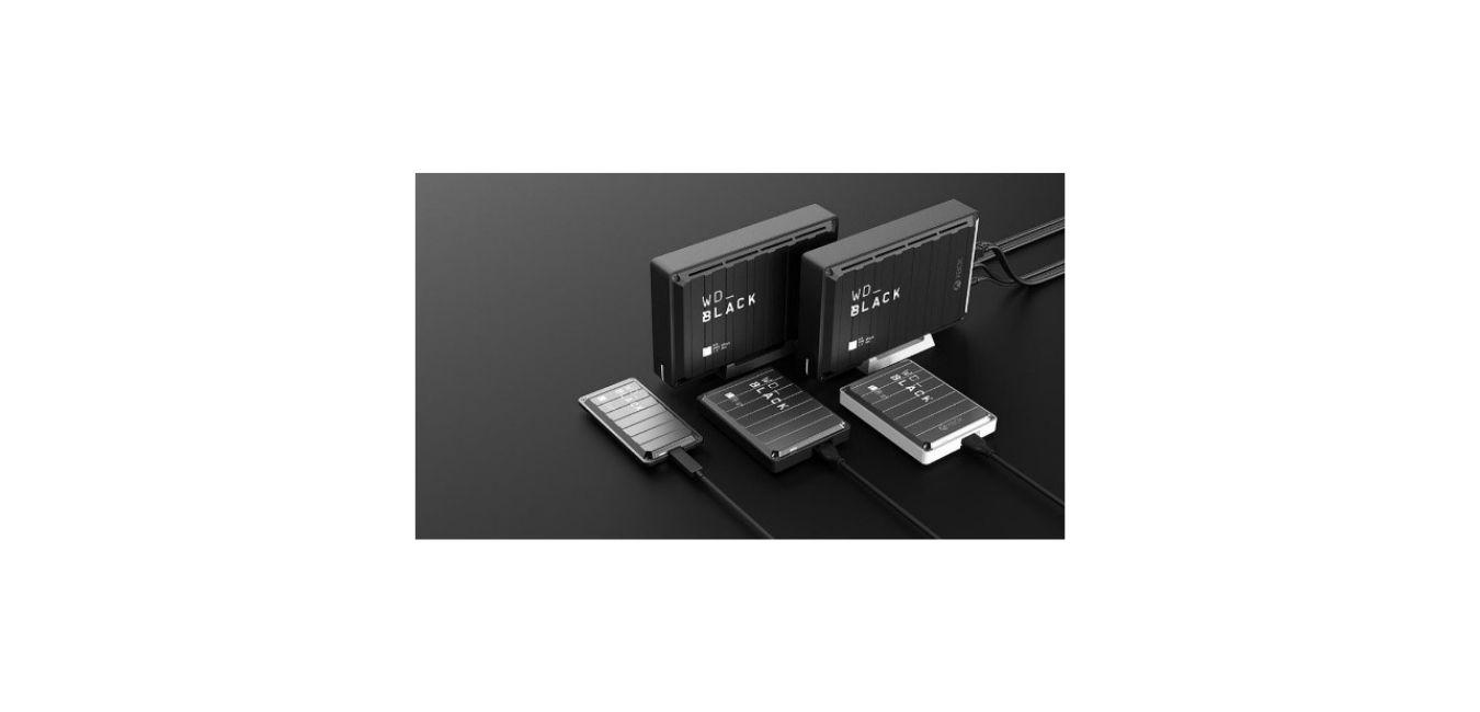WD_BLACK 5TB P10 Game Drive, Portable External Hard Drive